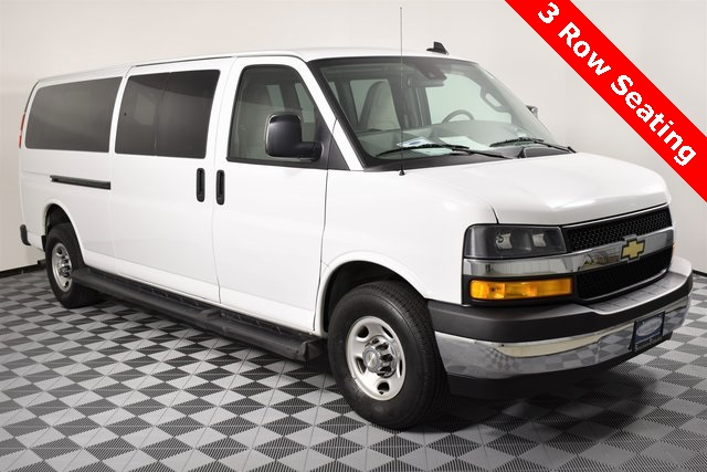 Pre-Owned 2019 Chevrolet Express 3500 LT Passenger