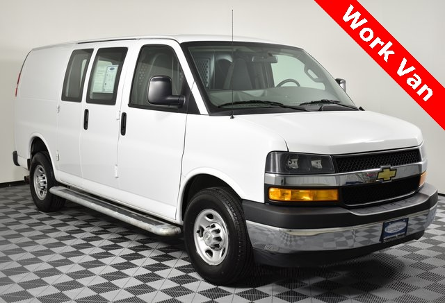 Pre-Owned 2018 Chevrolet Express 2500 Work Van Cargo