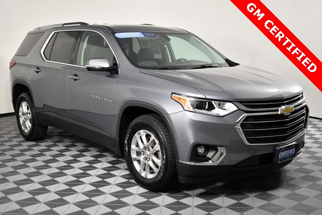Pre-Owned 2018 Chevrolet Traverse LT Cloth w/1LT